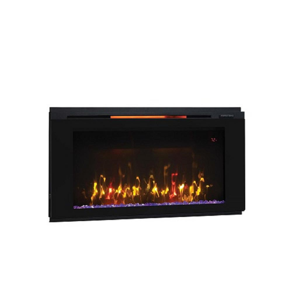 Classic Flame Helen 36 in. Wall-Mount Electric Fireplace in Black