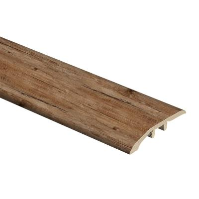 Walton Oak 1/3 in. Thick x 1-13/16 in. Wide x 72 in. Length Vinyl Multi-Purpose Reducer Molding