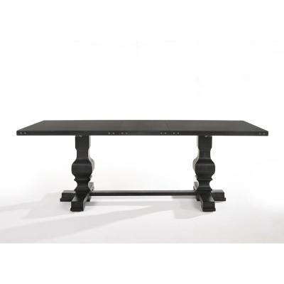 Morland Vintage Black Dining Table