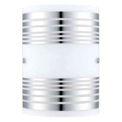 Bayman Chrome Wall Light