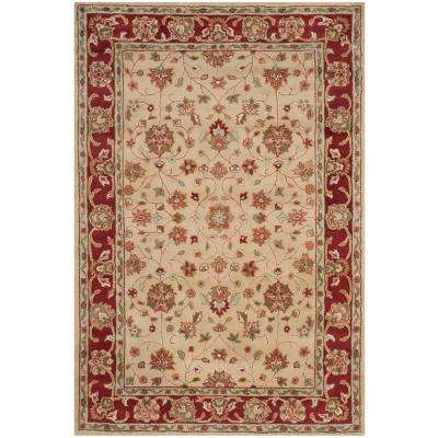 Heritage Ivory/Red 6 ft. x 9 ft. Area Rug