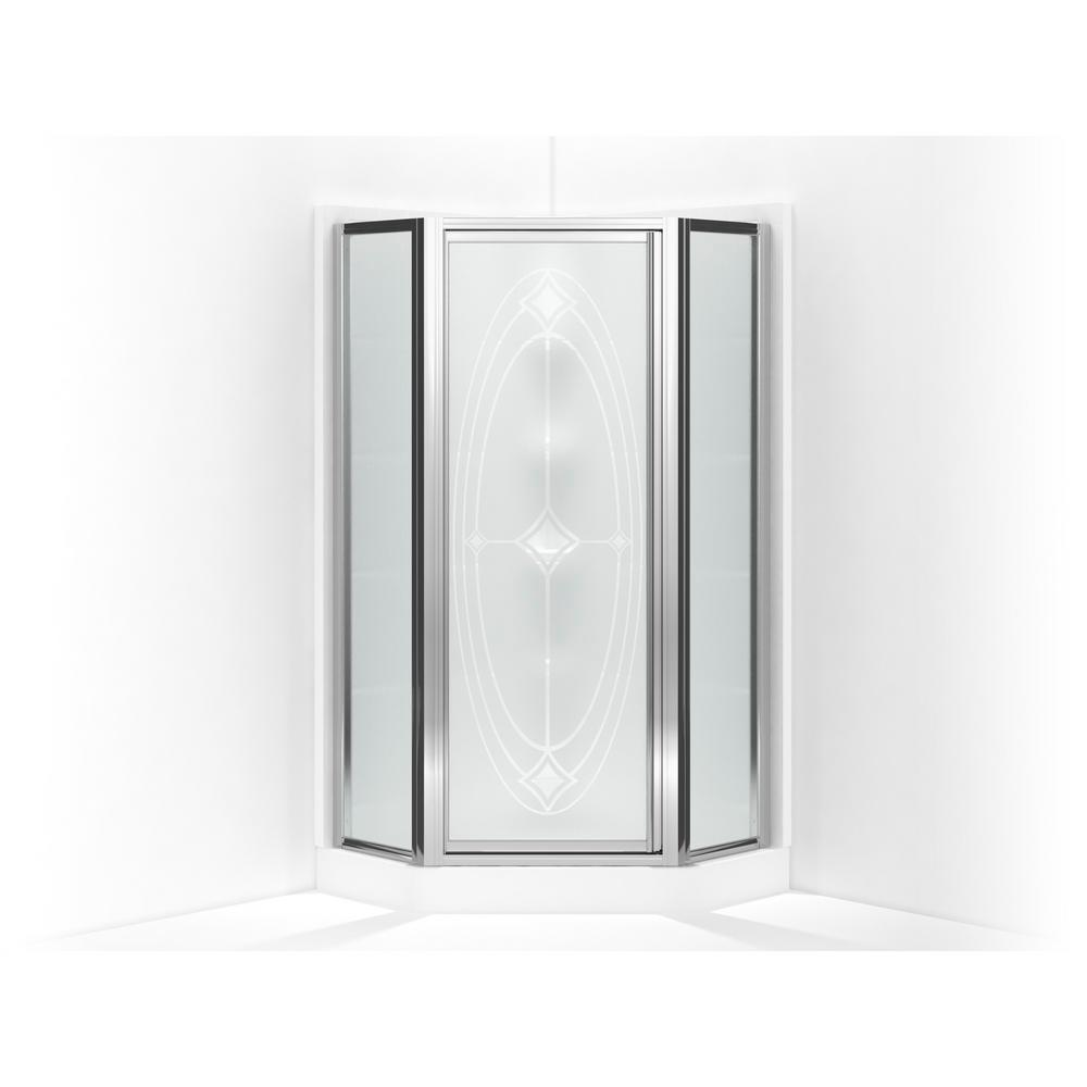 Sterling Intrigue 36-1/8 in. x 72 in. Neo-Angle Shower Do...