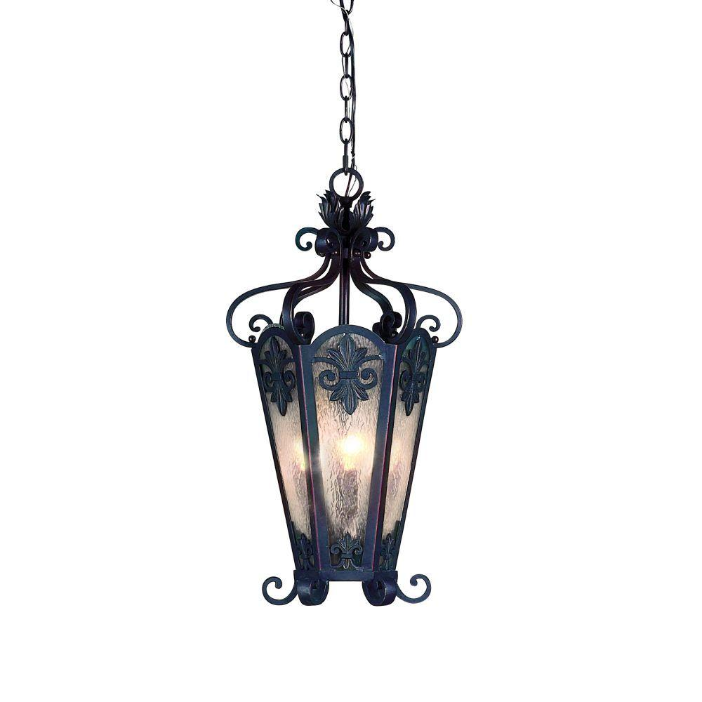 Eurofase Lonsdale Collection Hanging Outdoor Antique Sable Lantern-DISCONTINUED