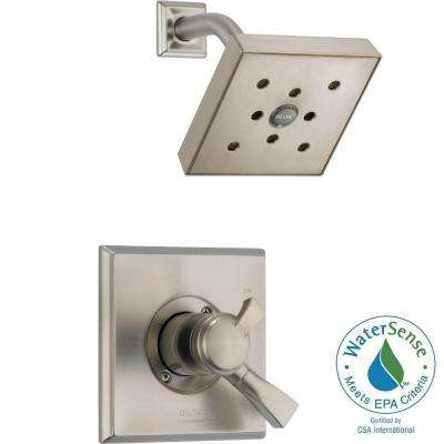 Dryden 1-Handle H2Okinetic Shower Only Faucet Trim Kit in Stainless (Valve Not Included)