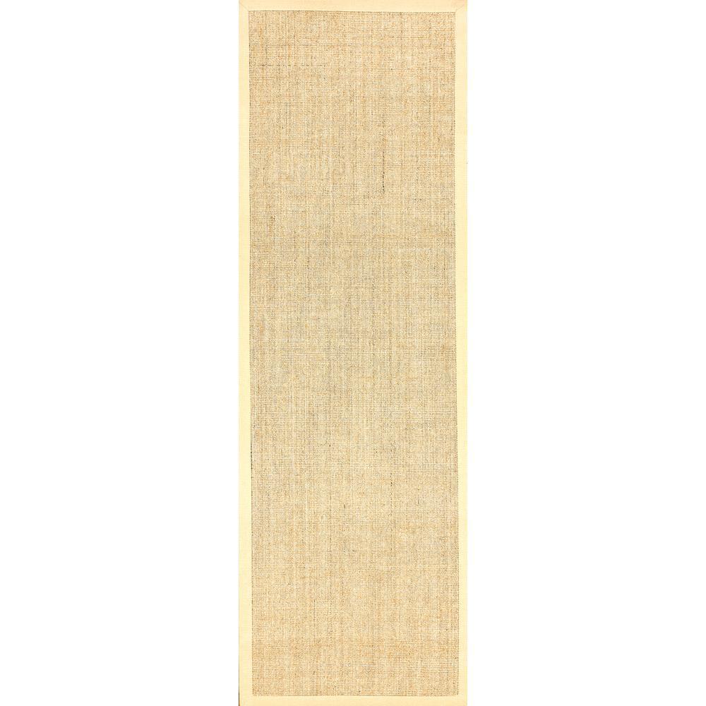 Orsay Sisal Beige 3 ft. x 12 ft. Runner Rug