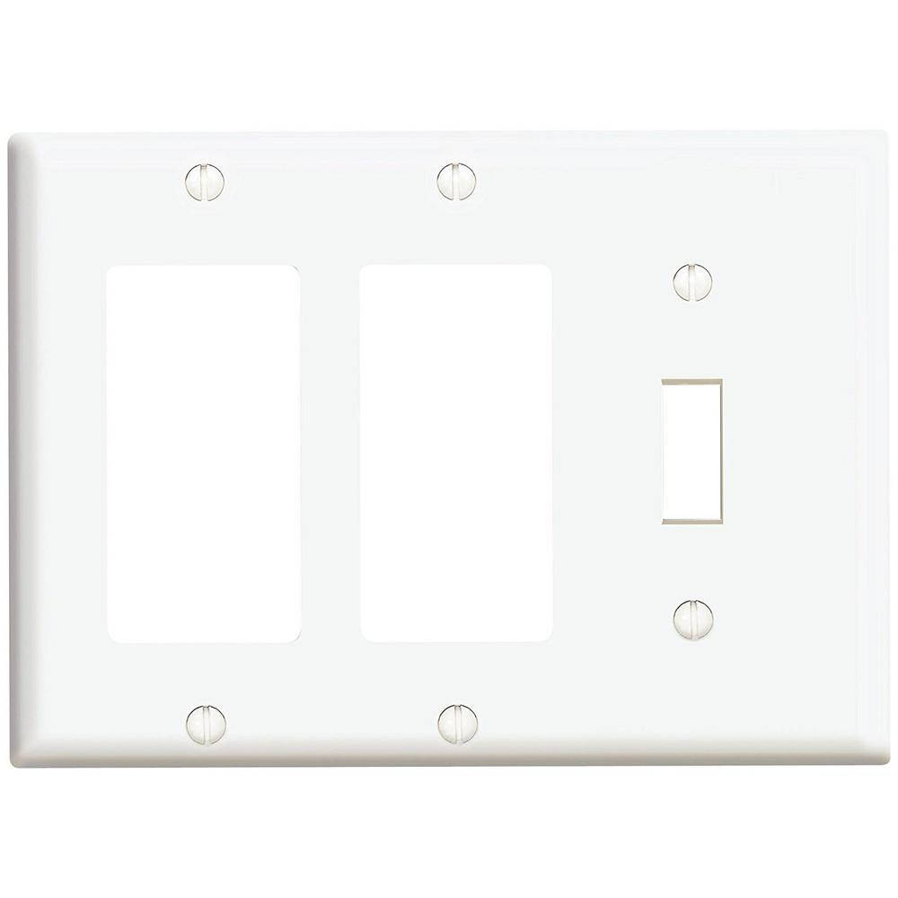 Combination Wall Plates Wall Plates The Home Depot