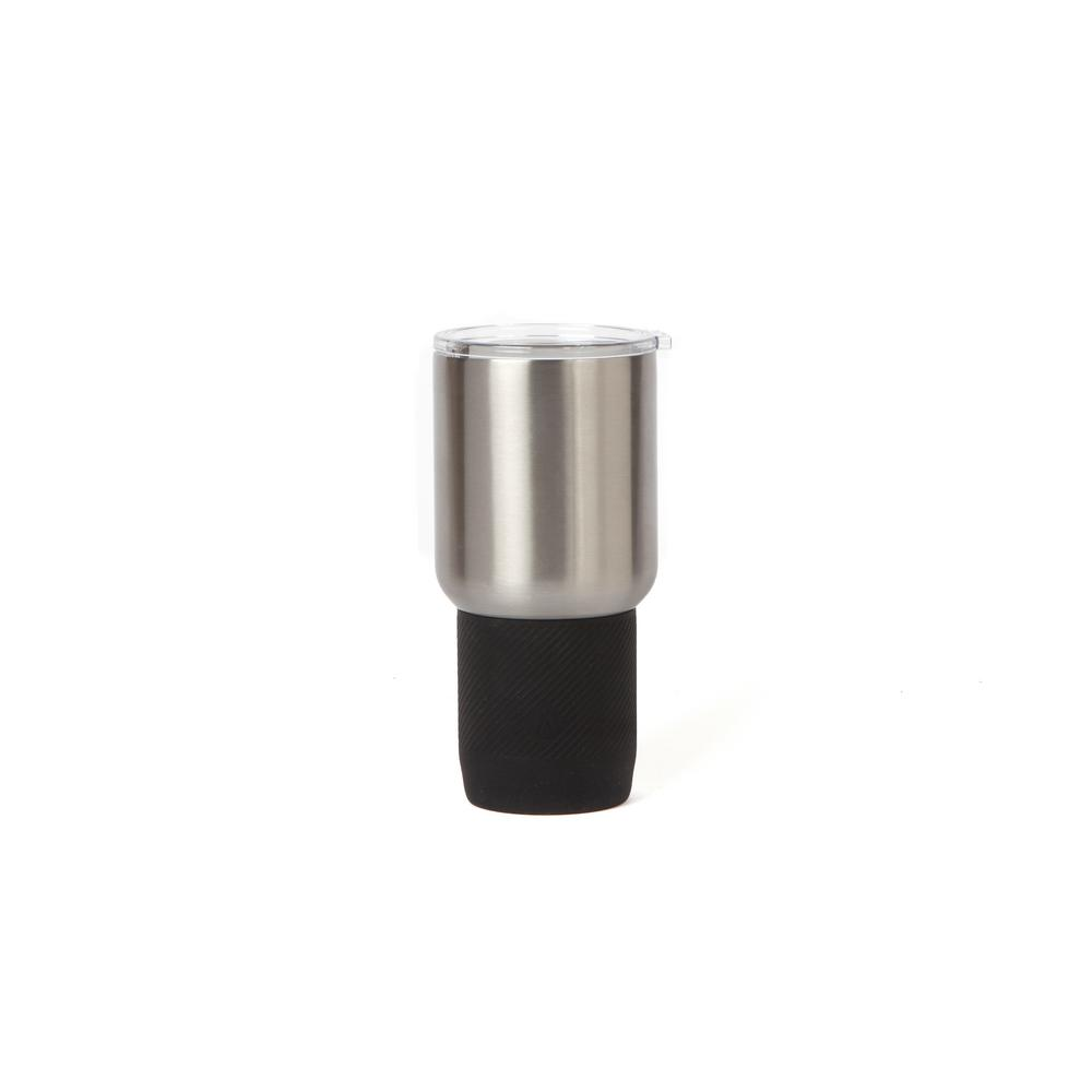 Manna Renegade 30 Oz Black Grip Double Wall Stainless Steel Tumbler