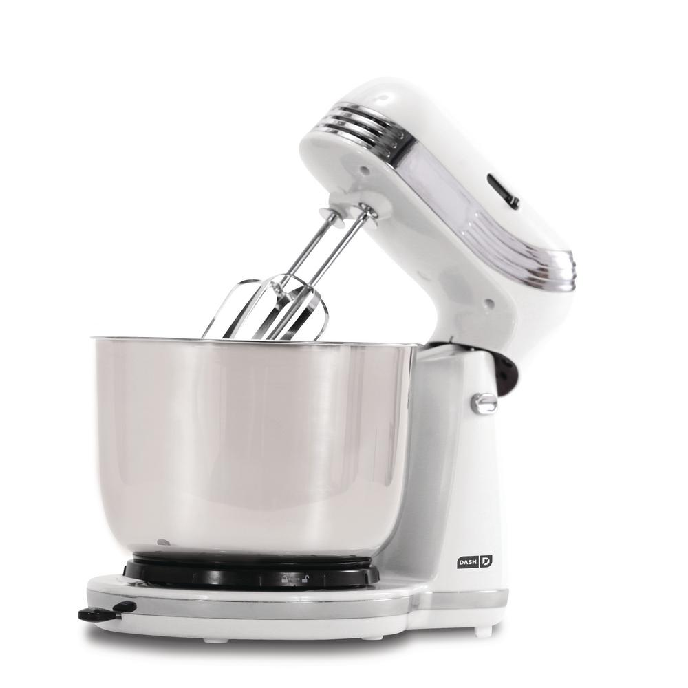Everyday 3 Qt. White 6-Speed Stand Mixer