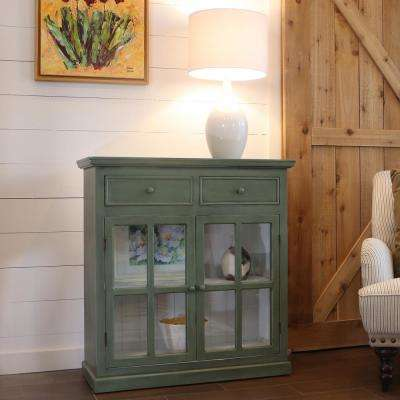 Layla Simplicity Green Accent Table
