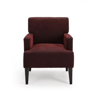 Tux Red Accent Chair