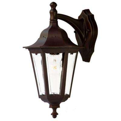 Tidewater Collection 1-Light Architectural Bronze Outdoor Wall-Mount Fixture