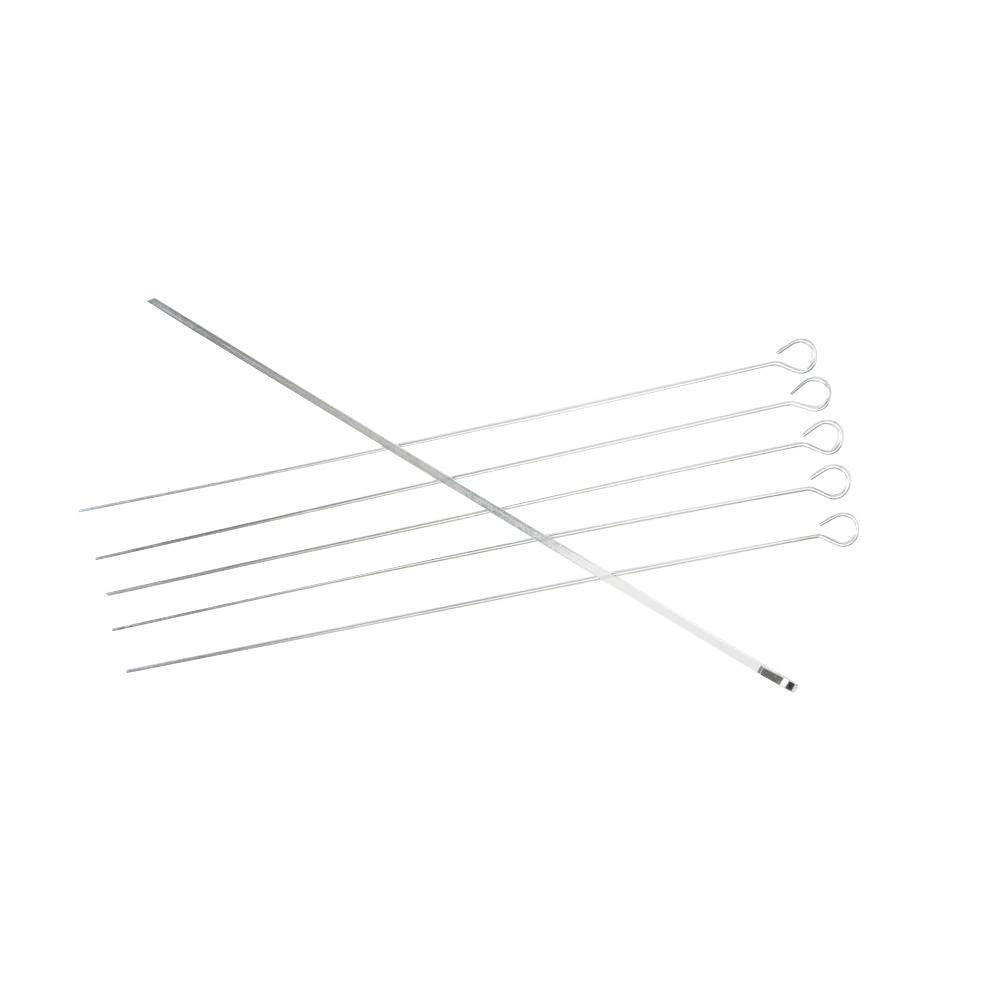 Charcoal Companion Stainless Steel Kabob Skewer (Set of 6)