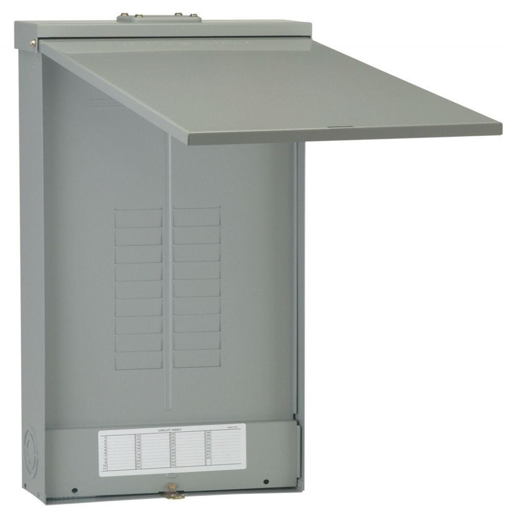 PowerMark Gold 200 Amp 18-Space 18-Circuit 3-Phase Outdoor Main Lug Circuit Breaker Panel