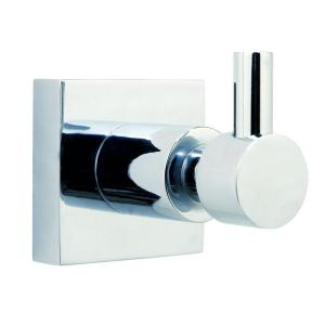 No Drilling Required Hukk Single Robe Hook in Chrome by No Drilling Required