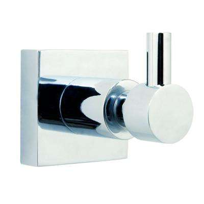 Hukk Single Robe Hook in Chrome