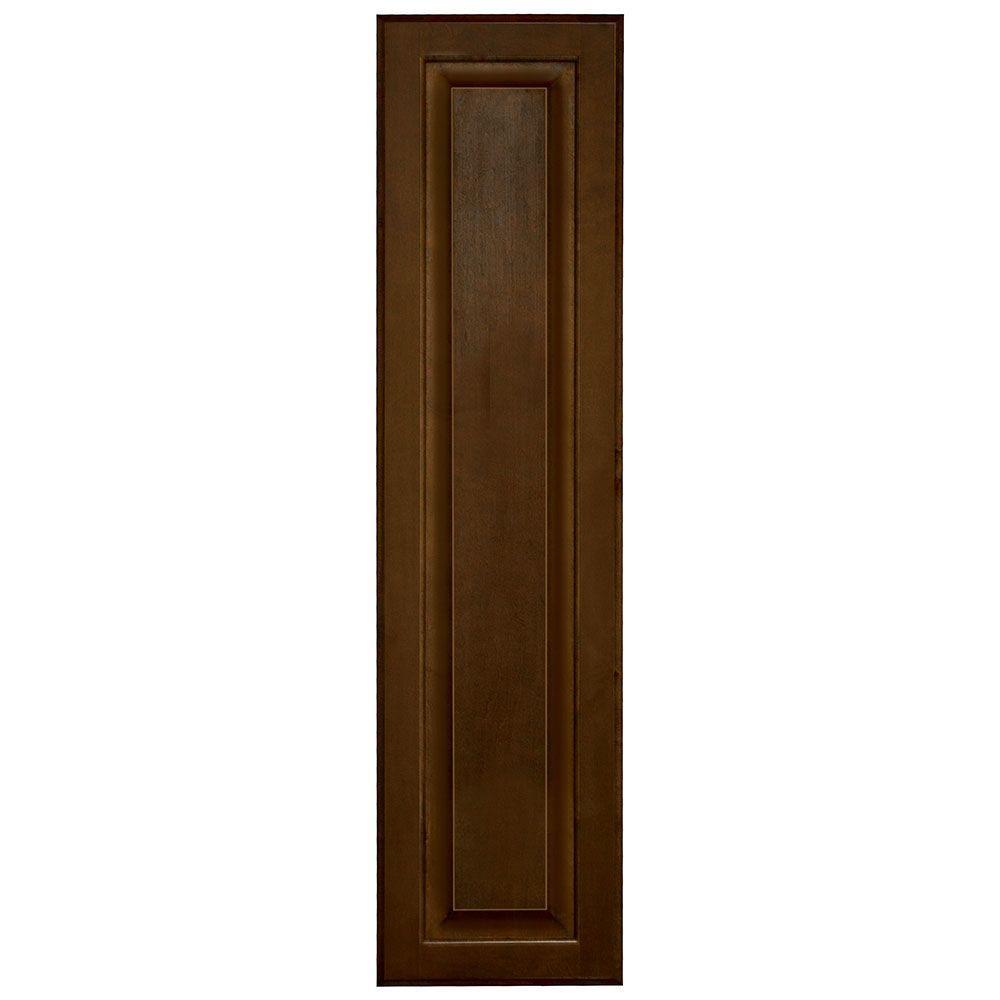 10x39.375x0.625 in. Hampton Decorative End Panel in Cognac