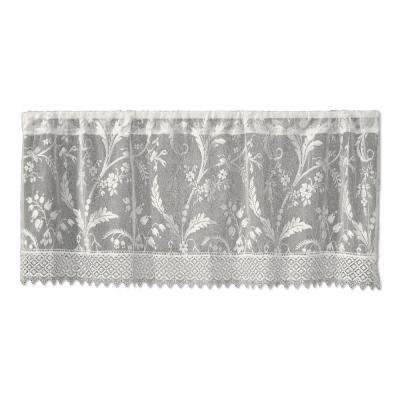 Coventry 45 in. L Polyester Valance in Ivory