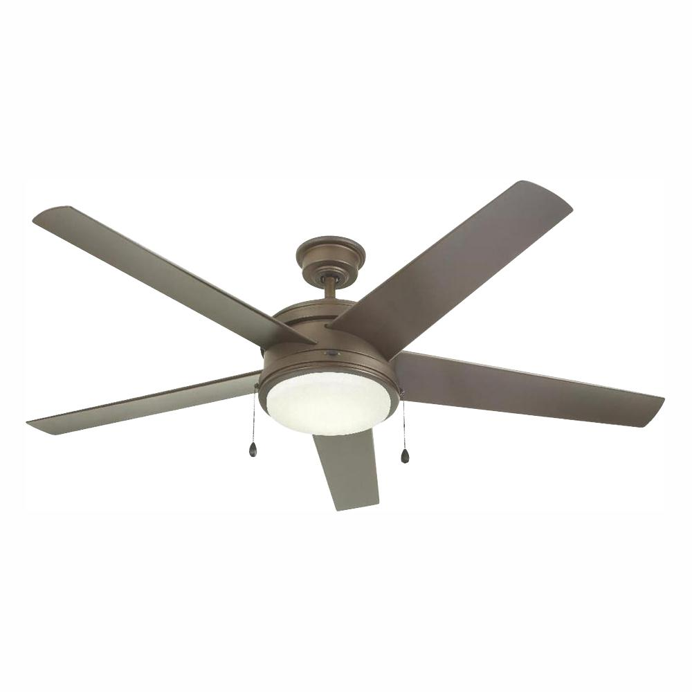 Home Decorators Collection Portwood 60 in. LED Outdoor Espresso Bronze Ceiling Fan