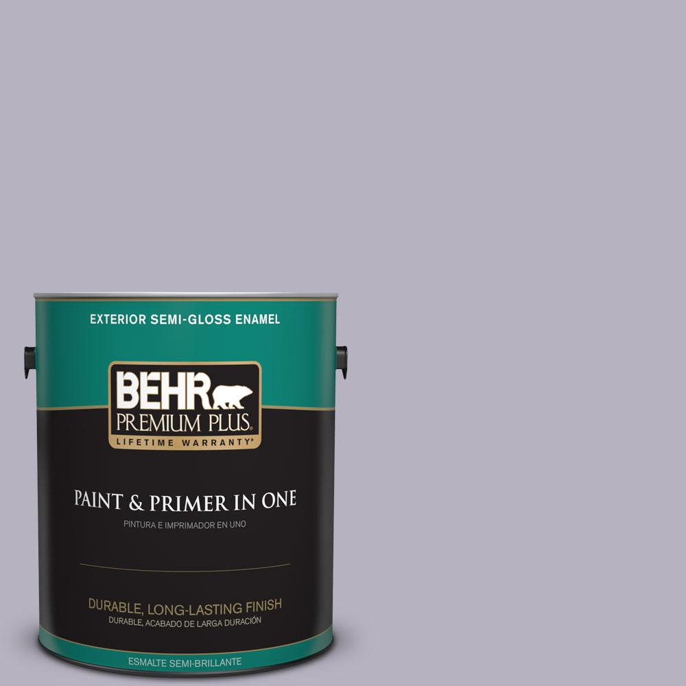 1-gal. #N560-2 Coveted Gem Semi-Gloss Enamel Exterior Paint