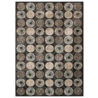 Sonoma Halsted Charcoal 5 ft. 3 in. x 7 ft. 6 in. Area Rug