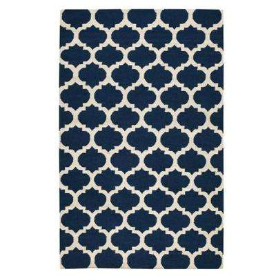 Allure Navy 3 ft. x 5 ft. Area Rug
