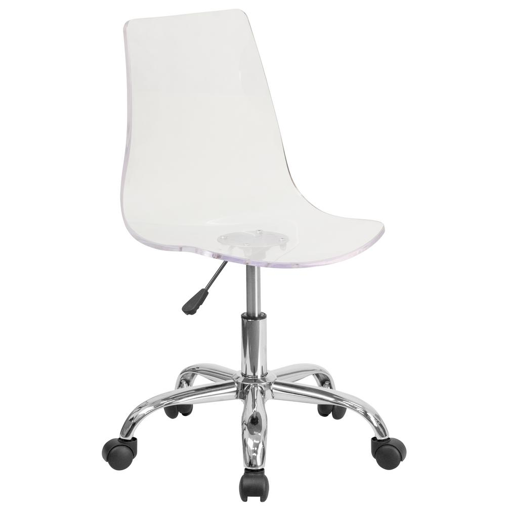 design ideas desk home chair clear acrylic