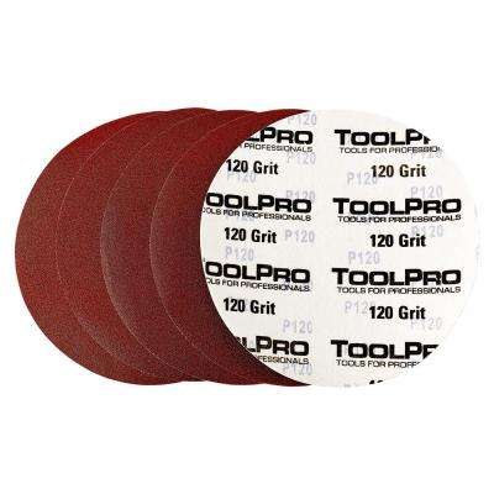 9 in. (225 mm) 120 Grit Hook and Loop Sanding Disk (25-Disk)
