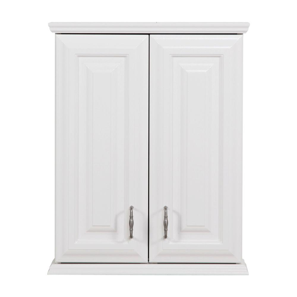 bathroom wall cabinet white st paul providence 20 1 2 in w x 25 3 4 in h x 7 3 5 in 11835