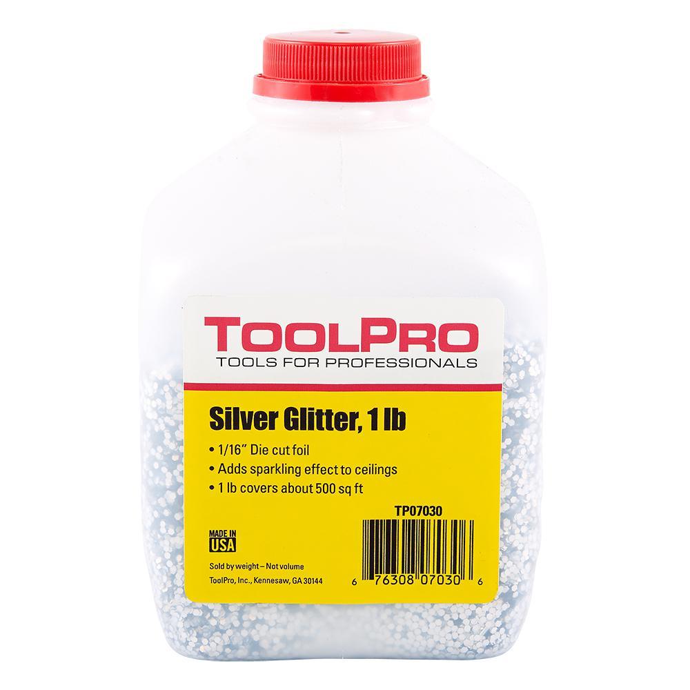 1/16 in. Silver Foil 1 lb. Ceiling Glitter