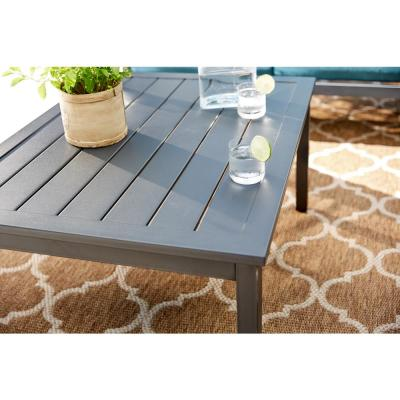 Riley Metal Outdoor Patio Coffee Table