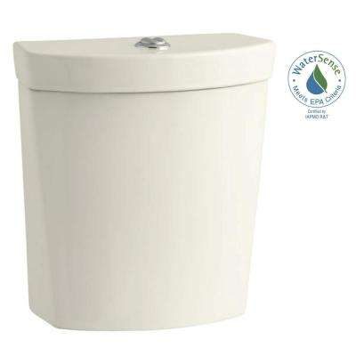 Persuade 1.0 or 1.6 GPF Dual Flush Toilet Tank Only in Biscuit
