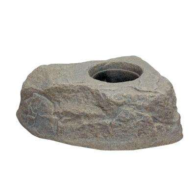 35 in. Riverbed Plastic Rock Planter