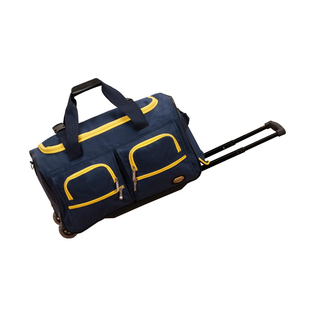 8cfa6bba6d This review is from Rockland Voyage 22 in. Rolling Duffle Bag