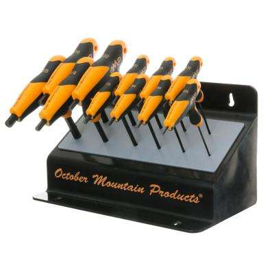 Pro Shop Bench Hex Wrench Set