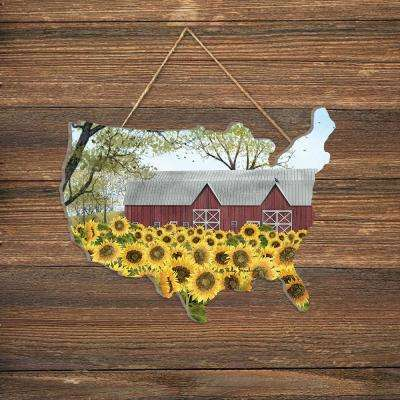 """Sunshine"" by Billy Jacobs Wood Wall Art"