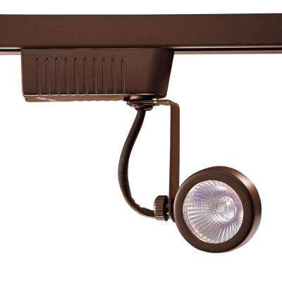 201 Series Low-Voltage MR16 Oil-Rubbed Bronze Gimball Style Track Lighting Fixture
