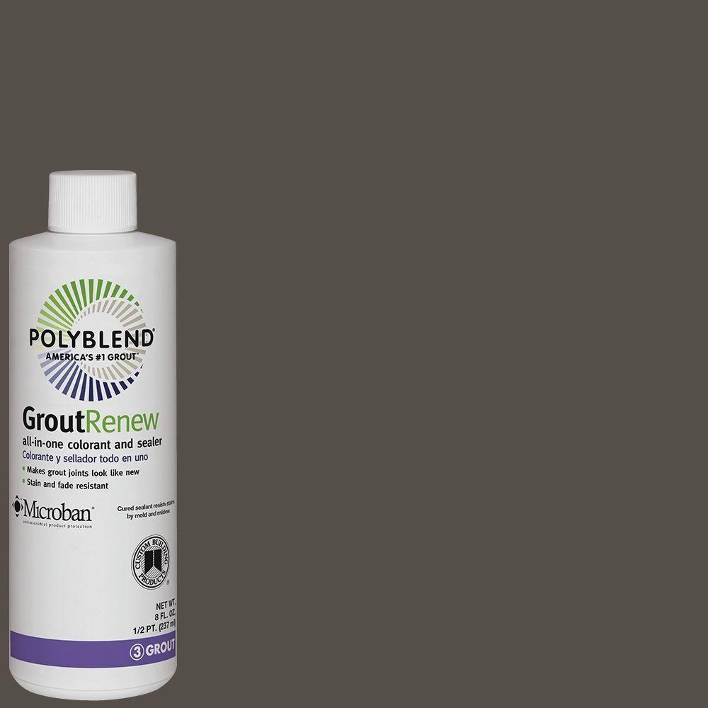 custom building products polyblend 540 truffle 8 oz grout renew