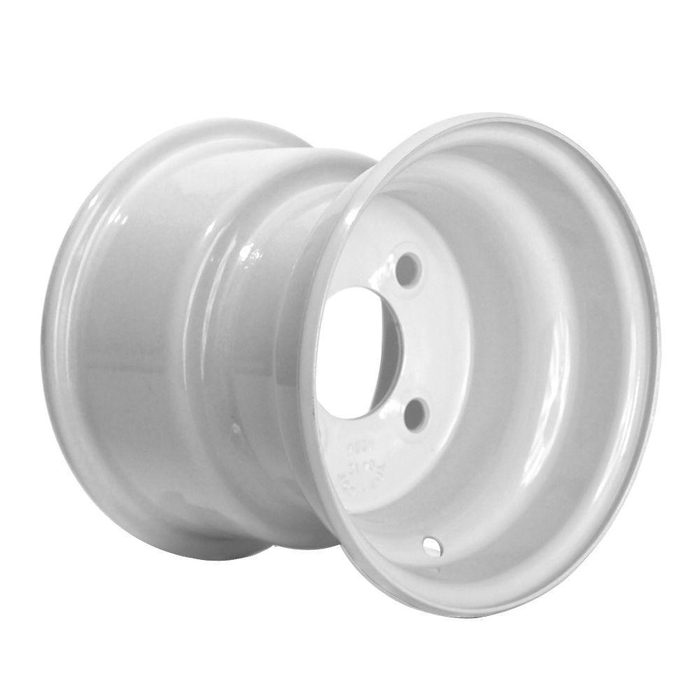 Martin Wheel 8x7 4-Hole 8 in. Steel Trailer Wheel/Rim