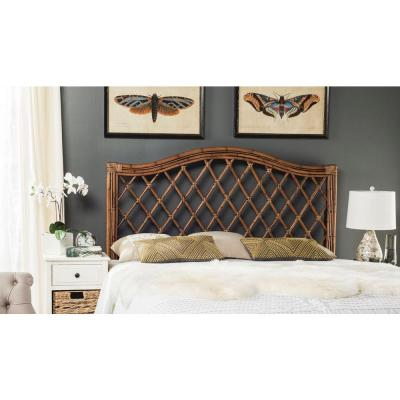 Gabrielle Brown/Multi Queen Headboard