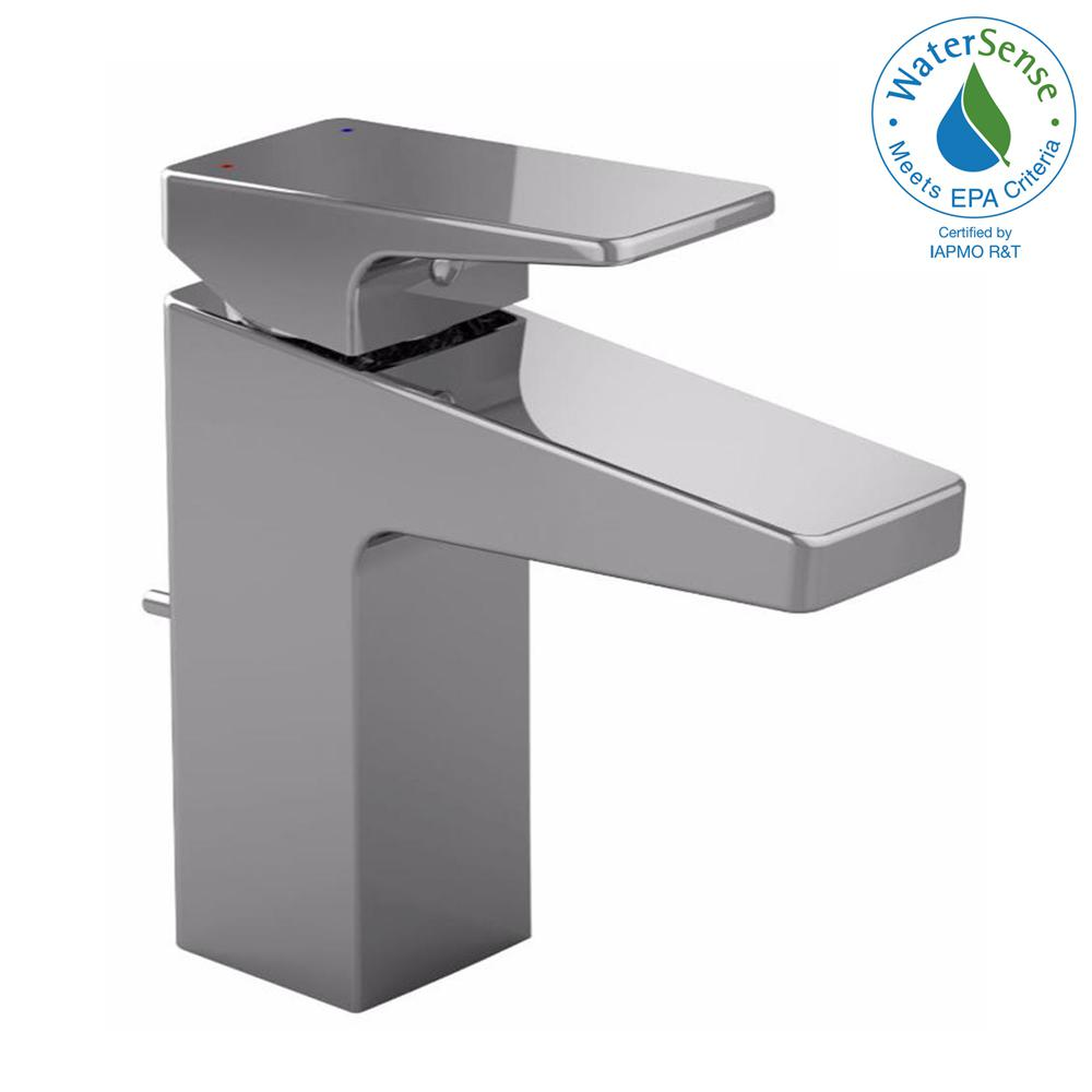 TOTO Oberon-F Single Hole Single-Handle Bathroom Faucet in Polished ...