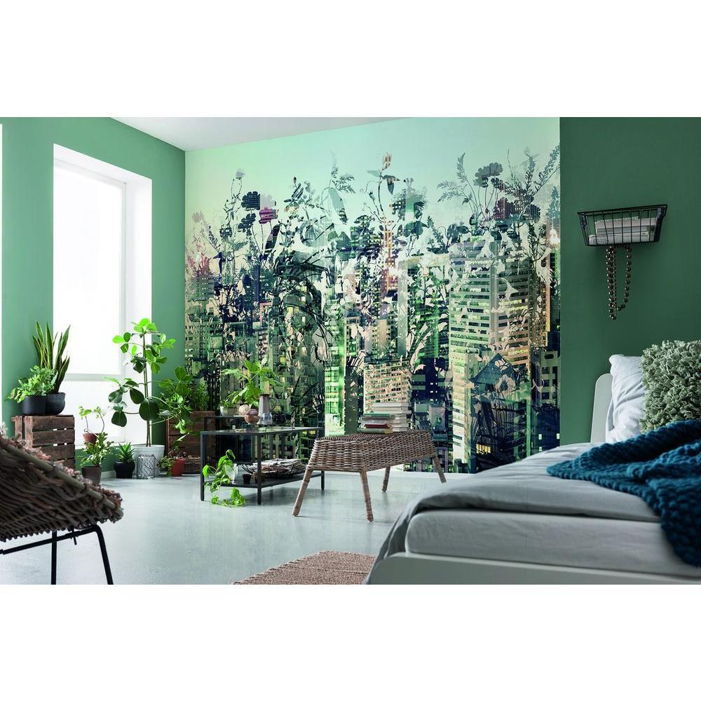 Komar 100 In H X 145 In W Urban Jungle Wall Mural 8 979 The Home
