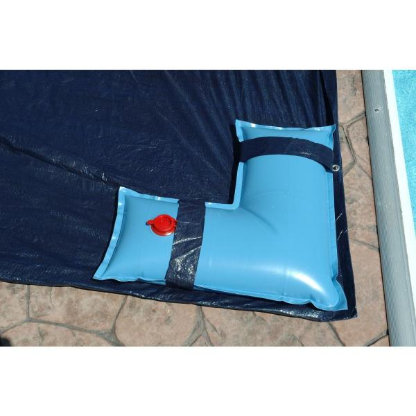 2 ft. x 2 ft. Blue Heavy-Duty Corner Water Tubes for In-Ground Pool Covers