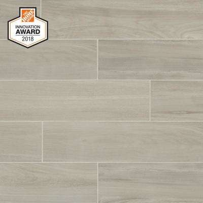 Linen Wood 6 In X 24 Glazed Porcelain Floor And Wall Tile 14 55 Sq Ft Case