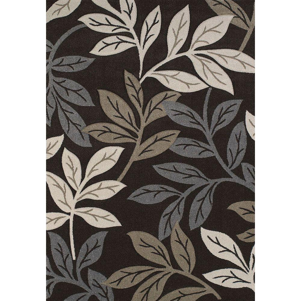 Freestyle Brown 7 ft. 10 in. x 11 ft. 2 in.