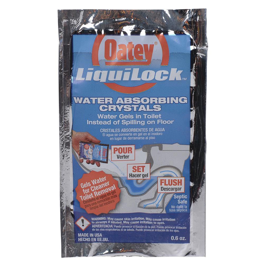 Liquilock 6 oz. Toilet Water Solidifier Gel