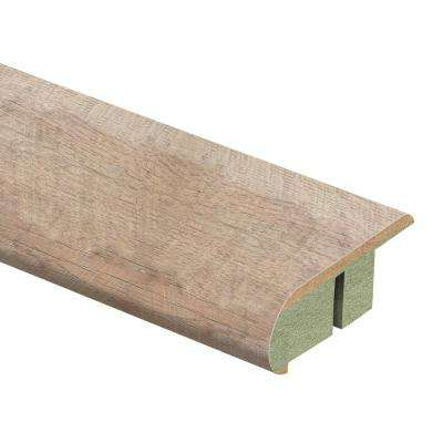 Alder Springs Oak 3/4 in. Thick x 2-1/8 in. Wide x 94 in. Length Laminate Stair Nose Molding