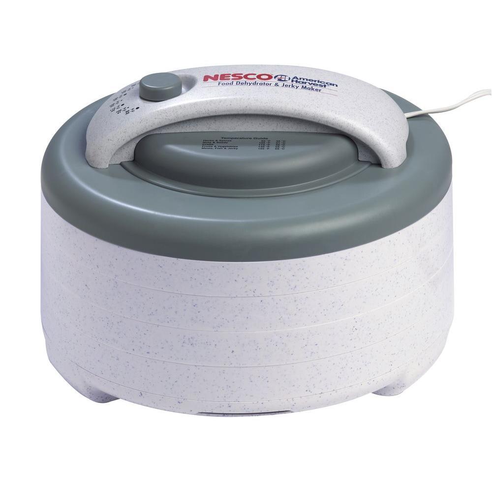 Click here to buy Nesco Snackmaster Encore 4-Tray Expandable Food Dehydrator by Nesco.