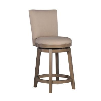 Davis 26 in. Gray Counter Stool