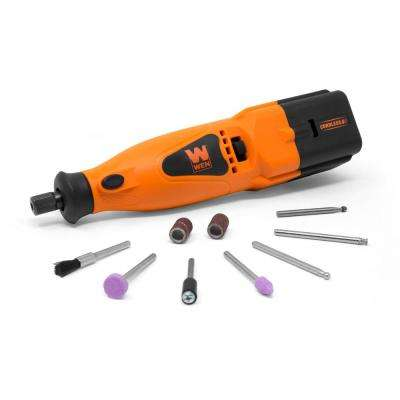 2-Speed Cordless Rotary Tool Kit with 10-Piece Accessory Set