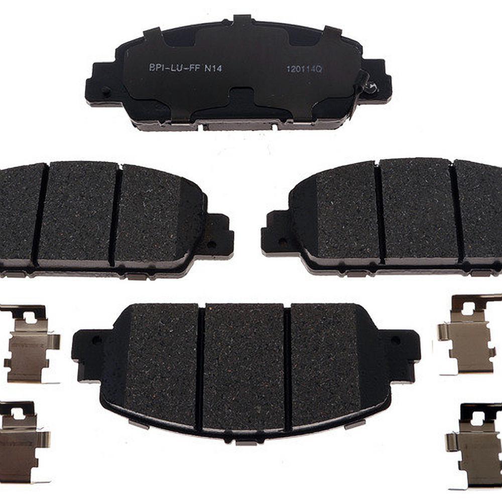 Honda Brake Pads >> Raybestos Brakes Front Reliant Ceramic Disc Brake Pad Fits 2013 2016 Honda Accord Hr V